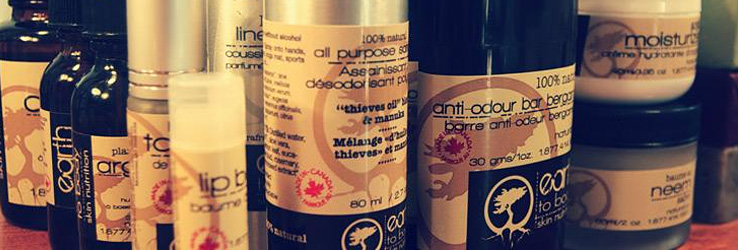Earth to Body Products and Packaging.