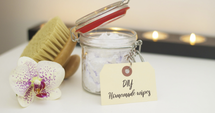 homemade baby wipes natural