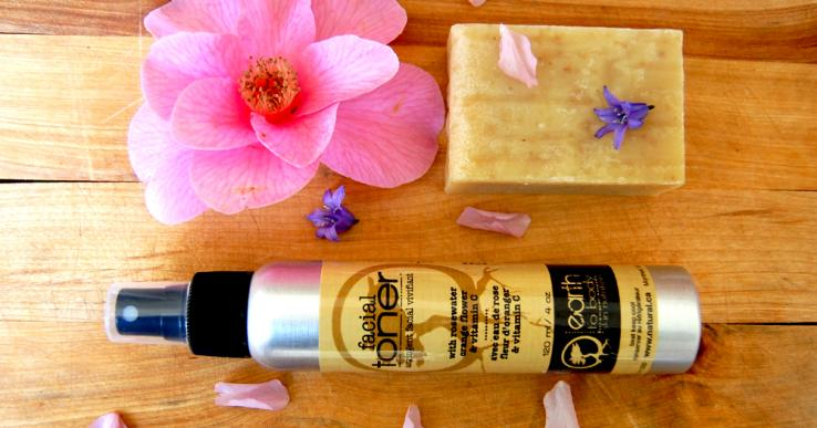 facial toner natural soap