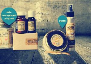 acne package problem skin natural skin care