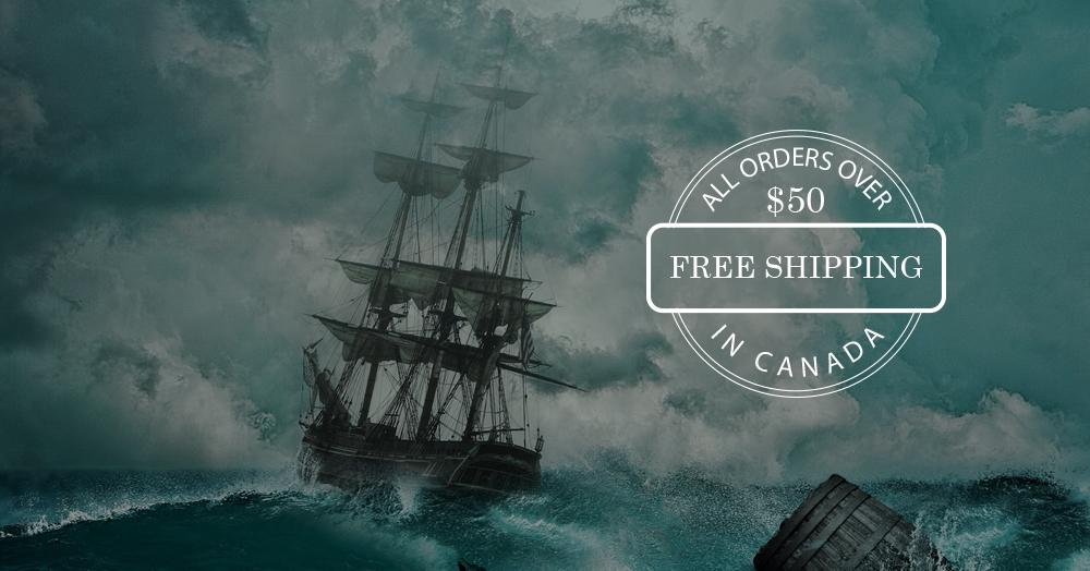 FREE SHIPPING IN CANADA OVER $50